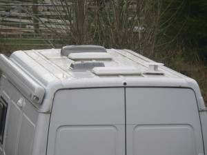Roof Vents on Race Home