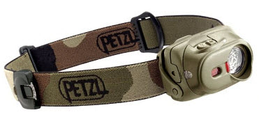Petzl Tactikka XP head torch